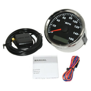 85mm Gps Speedometer Gauge Mph 0 160mph For Car Truck Motorcycle Atv Universal