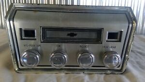 1967 Factory Chevrolet 8 Track Tape Player