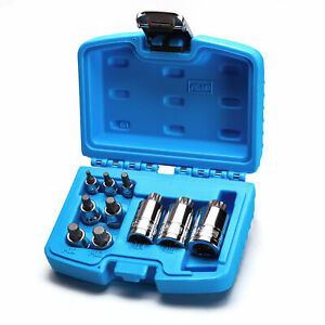 Capri Tools Xzn Triple Square Bit Socket Set Stubby Length 10 Piece Vw Bmw