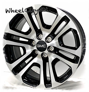 20 Inch Gloss Black Machine Ck158 2016 Gmc Sierra Yukon Denali Oe Replica 6x5 5