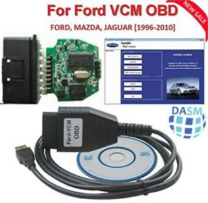 Ultraobd2 Ford Vcm Obd Focom Diagnostic Interface Obd Cable For Ford Mazda Jag