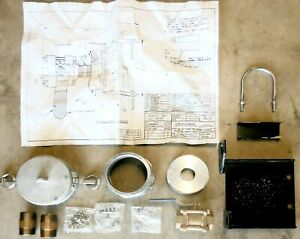 Microphor 99354 Manual Drain Valve And Connection For Rr Car Sewage System
