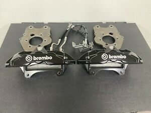 13 14 Shelby Gt500 Ford Mustang 6 Piston Brembo Calipers Brand New