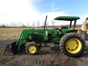 John Deere 2355 Tractor Orops W Sunshade 2wd Great Bend 440 Fl 5 592 Hours