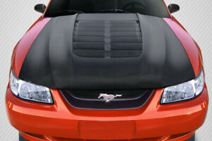 Carbon Creations Gt500 V2 Hood 1 Piece For 1999 2004 Mustang