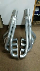 Dynatech Big Block Chevy Upswept Dragster Exhaust 2 1 4 To 2 3 8 Stepped Ceramic