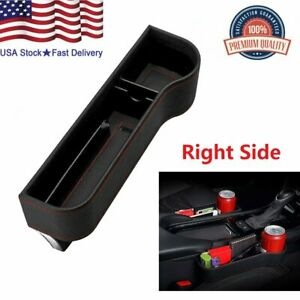 Auto Car Seat Gap Pocket Catcher Box Organizer Crevice Stowing Cup Holder Right