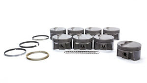 Mahle Pistons Sbf 4 030 In Forged Powerpak Piston And Ring Kit P n 930244130