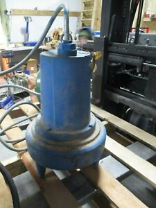 Barnes No Tag Submersible Pump 12312k Used