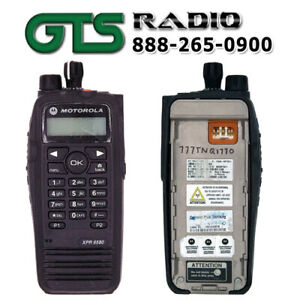 Refurbished Motorola Xpr6580 800 900 Mhz Two Way Radio Handheld Option Board