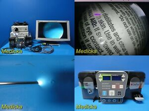 2015 Depuy Synthes Arthroscopy Sys W Fms Vue Shaver Console Stryker Scope 20876