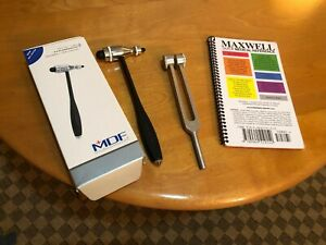 Quality Mdf Reflex Hammer 128c Tuning Fork Maxwell Quick Medical Reference