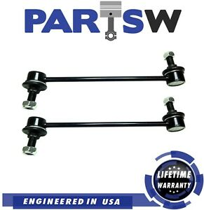 Front Stabilizer Sway Bar End Link 2 Pc Kit For Kia Optima Rio Hyundai Elantra
