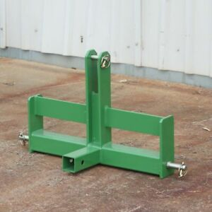 Sturdy Tractor Drawbar With Suitcase Weight Brackets 2 Receiver Cat 1 3 point