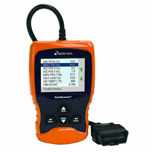 Actron Automotive Obd Ii Live Data Autoscanner With Digital Color Screen Used