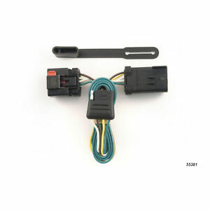 T connector Wiring Connection For Trailer Hitch Tow Towing Curt 55381