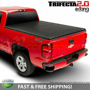 Extang Trifecta 2 0 Soft Tri fold Cover For Nissan Frontier 5ft Bed 2005 2019