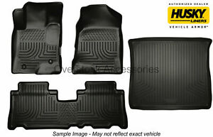 Weatherbeater Floor Mats Set Cargo Liner Black For 2012 17 Toyota Camry Hybrid