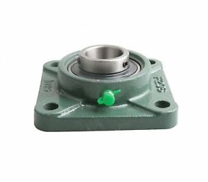 17mm Ucf203 Mounted Bearing square Flanged Cast Housing m_m_s