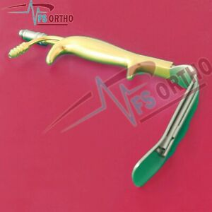 Ferreira Breast Retractor Gold Plated Of Plastic Surgery Retractor Instruments