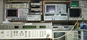 Hp Agilent Keysight 8657a Signal Generator 0 1mhz 1040mhz Tested