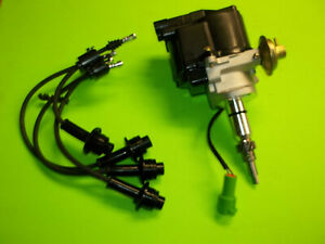 Toyota Forklift Distributor Fits 4y Engine 5 6 7 Series With Spark Plug Wires