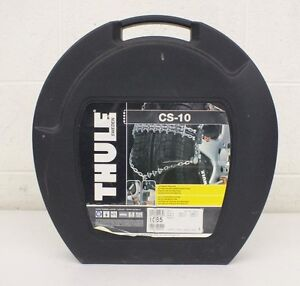 Thule Sweden Cs 10 065 Low Profile Tire Chains 2 New Satisfaction Guaranteed