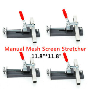 4x Manual Silk Screen Printing Stretcher Stretch Screen Frame Stretching Machine