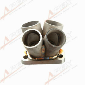 T3 T3 t4 Flange Stainless Steel 4 1 4 Cylinder Manifold Header Collector Us