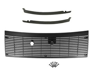 1983 1993 Ford Mustang Cowl Vent Grille W Lower Windshield Trim Moldings