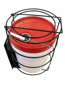 5 Gallon Bucket Safe locking Rack