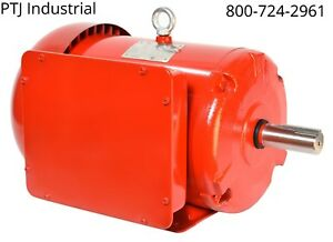 10hp Electric Motor 215tc 1 Phase 1800rpm Totally Enclosed Severe Duty Farm Duty