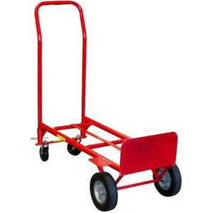 600lb Milwaukee Convertible Hand Truck Dolly