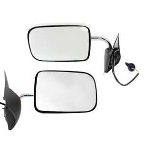 Mirrors Set Of 2 Left and right For Ram Truck Lh Rh Ch1321132 Ch1320132 Pair