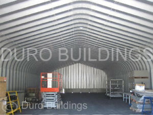 Durospan Steel 25x46x13 Metal Garage Home Shop Arch Building Kit Factory Direct