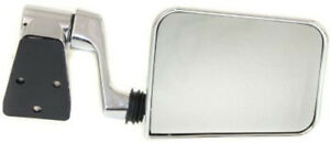Cpp Driver Side Chrome Mirror For 1987 1995 Jeep Wrangler