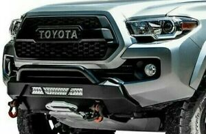 Body Armor 4x4 Hiline Series Front Bumper 2016 2019 Toyota Tacoma Tc 19339
