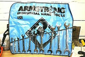 Armstrong 10 Piece 6 To 24mm Open End Wrench Set