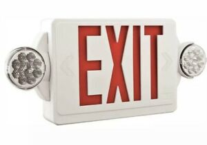 Lithonia Lighting Lhqm R M6 Led Thermoplastic Casing Emergency Exit Sign 007