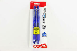 15 Pack Pentel Energel x Liquid Gel Pen 0 7mm Metal Tip Medium Blue U54a