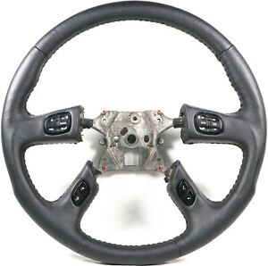 Grant Racing Leather Steering Wheel Silverado Sierra Tahoe Escalade Trailblazer