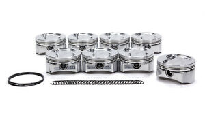 D s s Racing Sbf 4 030 In Bore Gsx Series Forged Piston 8 Pc P n 4342x 4030
