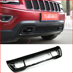 For Jeep Grand Cherokee 2014 2016 Abs Black Front Lower Bumper Grille Grill