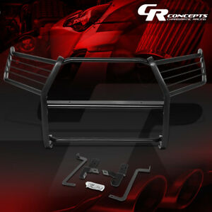 1 5 od Powder coated Front Bumper Brush Grille Guard For 16 19 Toyota Tacoma