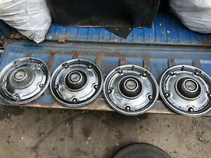 Genuine Chevrolet 1969 1972 C10 Hubcaps Pickup Truck Chevy Hot Rod