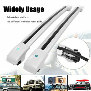 Top Roof Rack Cross Bar Luggage Carrier With Key Lock For Jeep Cherokee 14 17 Us