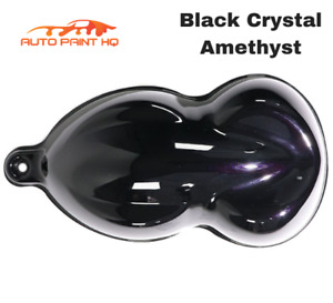 Black Crystal Amethyst Pearl Acrylic Urethane Single Stage Gallon Auto Paint Kit