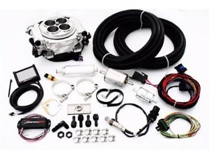 Holley Sniper 550 510k Shiny Efi Fuel Injection Master Kit Complete Make Offer