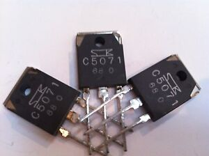 2sc5071 Silicon Npn High Speed High Voltage Lot Of 5