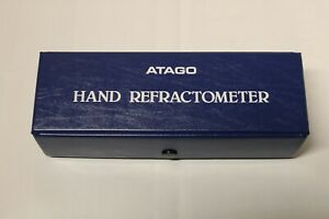 Atago Hand Refractometer Atc No 2910 0 32 Measures Concentration Of Liquids